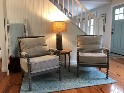 Oak Bluffs Martha's Vineyard vacation rental - Sitting/reading nook in TV Room