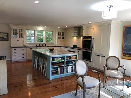 Oak Bluffs Martha's Vineyard vacation rental - Gourmet Kitchen with island seating