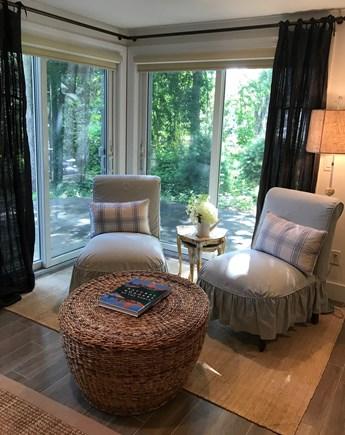 Oak Bluffs Martha's Vineyard vacation rental - Guest House Living Area