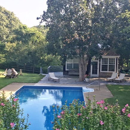 Oak Bluffs Martha's Vineyard vacation rental - Private Pool and Guest House