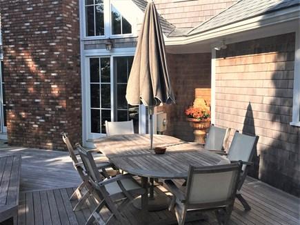 Oak Bluffs Martha's Vineyard vacation rental - Enjoy the Outdoor Deck