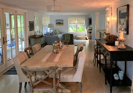 Oak Bluffs Martha's Vineyard vacation rental - Main House Dining Area