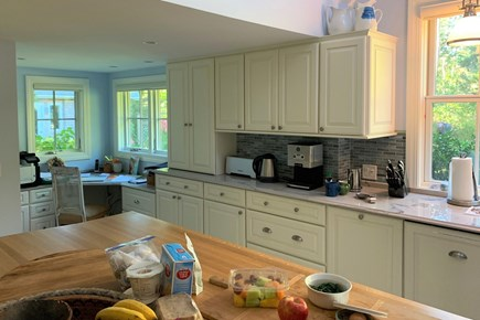 Oak Bluffs Martha's Vineyard vacation rental - Main House Kitchen