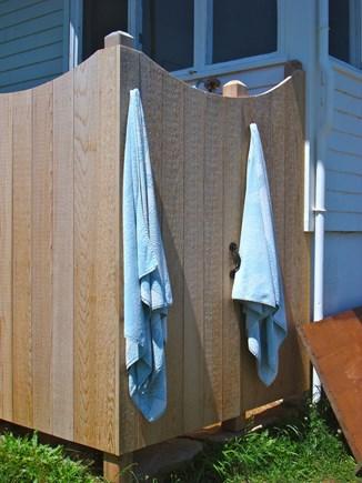 Chilmark Martha's Vineyard vacation rental - Outdoor shower.