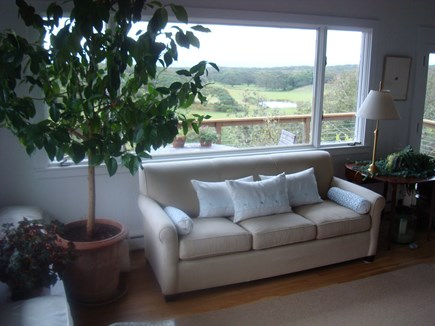 Chilmark Martha's Vineyard vacation rental - The living room.
