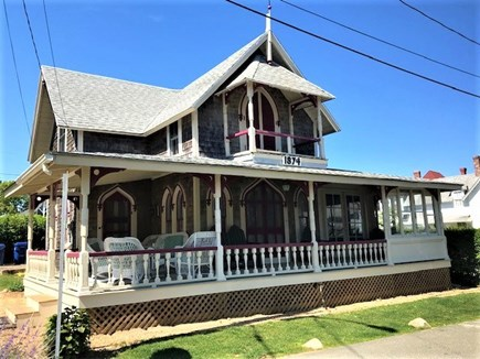 Oak Bluffs Martha's Vineyard vacation rental - One Block to the beach