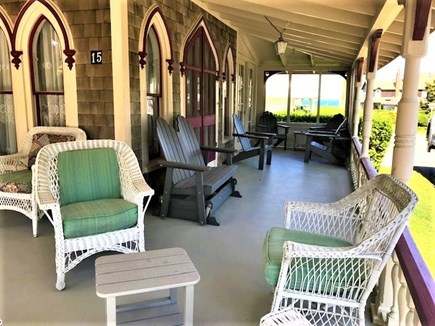 Oak Bluffs Martha's Vineyard vacation rental - Ocean view from the wrap around porch