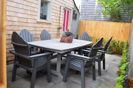 Oak Bluffs Martha's Vineyard vacation rental - Back patio