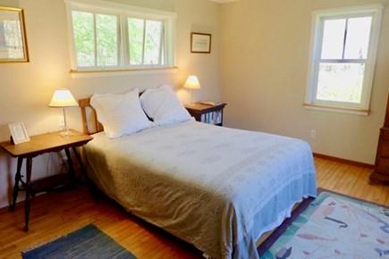 Chilmark Martha's Vineyard vacation rental - Master first floor bedroom