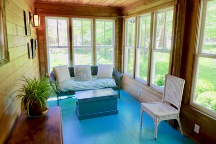 Chilmark Martha's Vineyard vacation rental - Have your coffee on this delightful front porch