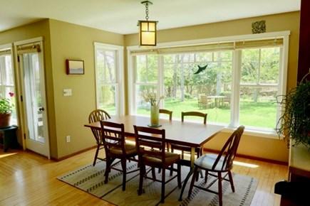 Chilmark Martha's Vineyard vacation rental - Sun filled dining room