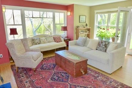 Chilmark Martha's Vineyard vacation rental - Comfortable sun filled living room
