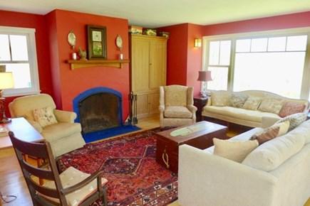 Chilmark Martha's Vineyard vacation rental - Delightful living room