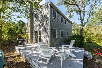 Oak Bluffs Martha's Vineyard vacation rental - Deck and yard