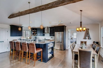 Aquinnah Martha's Vineyard vacation rental - Dining next to kitchen