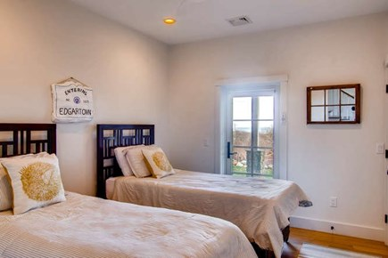 Aquinnah Martha's Vineyard vacation rental - Twin room, one twin is XL