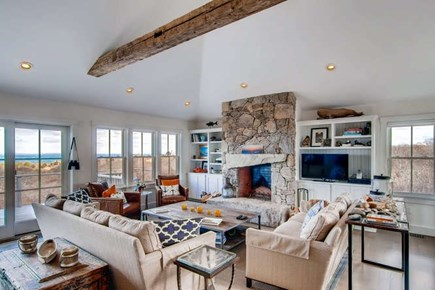Aquinnah Martha's Vineyard vacation rental - Great room