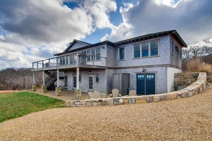 Aquinnah Martha's Vineyard vacation rental - Exterior with fire pit