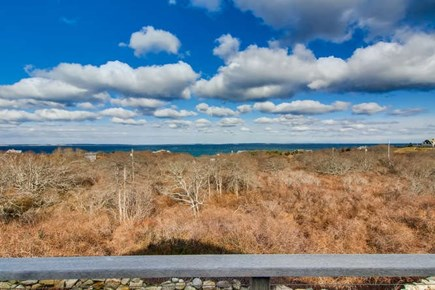 Aquinnah Martha's Vineyard vacation rental - Deck view center