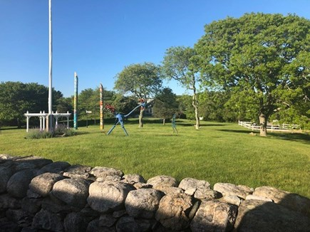 Chilmark Martha's Vineyard vacation rental - Sculpture garden