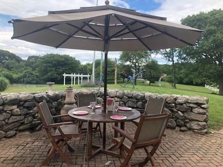 Chilmark Martha's Vineyard vacation rental - Front patio