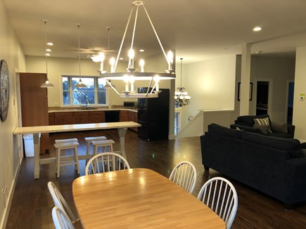 Oak Bluffs Martha's Vineyard vacation rental - Open floor plan dining and kitchen area with breakfast bar