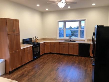 Oak Bluffs Martha's Vineyard vacation rental - Kitchen w/microwave, coffee maker, dishwasher, gas stove, fridge