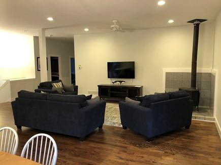 Oak Bluffs Martha's Vineyard vacation rental - Living room. Wood burning stove, hopefully you won't need that!