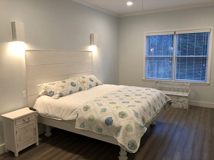 Oak Bluffs Martha's Vineyard vacation rental - Master bedroom with King.  We do not provide sheets/towels