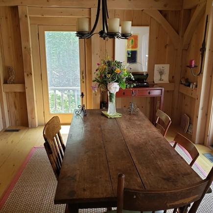 West Tisbury Martha's Vineyard vacation rental - Dining