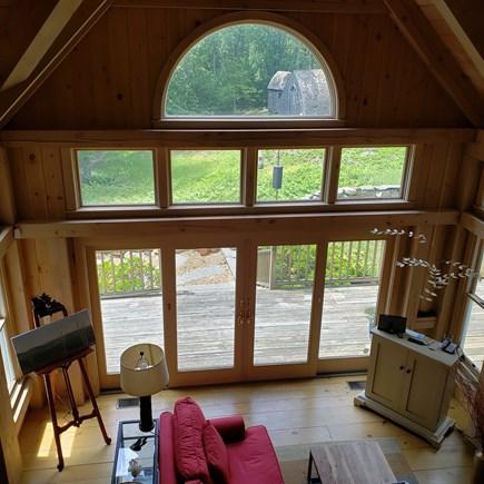 West Tisbury Martha's Vineyard vacation rental - View from 2nd floor balcony