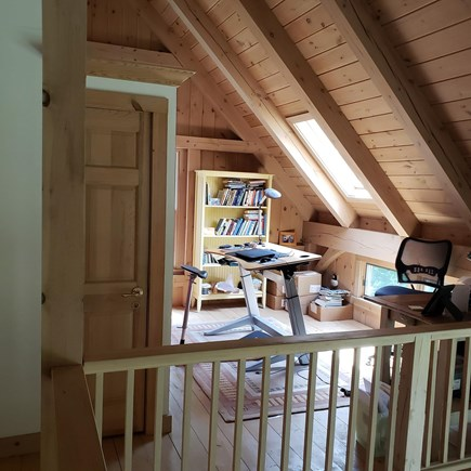 West Tisbury Martha's Vineyard vacation rental - Office with ergonomic desk