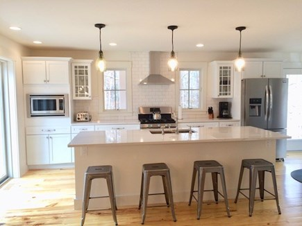 Oak Bluffs Martha's Vineyard vacation rental - Open concept kitchen/dining/living well stocked.