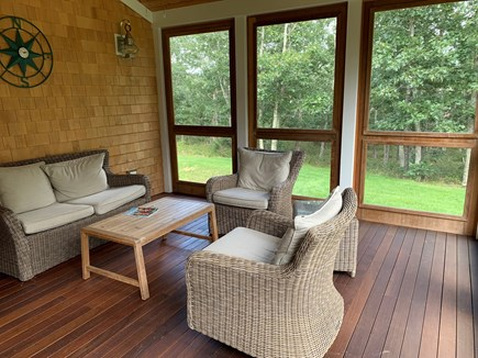 Oak Bluffs Martha's Vineyard vacation rental - Screened  porch
