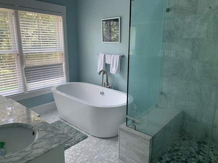 Oak Bluffs Martha's Vineyard vacation rental - Master bath with soaking tub