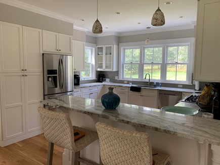 Oak Bluffs Martha's Vineyard vacation rental - kitchen and bar area