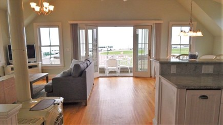 Oak Bluffs Martha's Vineyard vacation rental - Open living area and kitchen
