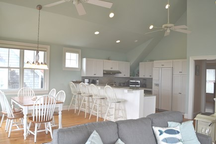 Oak Bluffs Martha's Vineyard vacation rental - Spacious Open 2nd Floor Kitchen, Dining and Sitting Area
