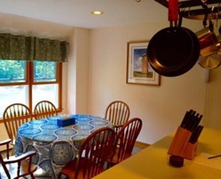 Edgartown Martha's Vineyard vacation rental - Open dining area