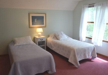 Edgartown Martha's Vineyard vacation rental - Second floor bedroom-4 with 3 Twins