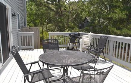 Edgartown Martha's Vineyard vacation rental - Relax on the outdoor deck