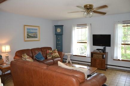 Edgartown Martha's Vineyard vacation rental - Living room with flat screen tv