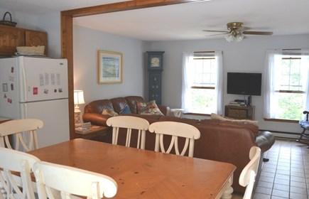 Edgartown Martha's Vineyard vacation rental - Dining Room to open living area