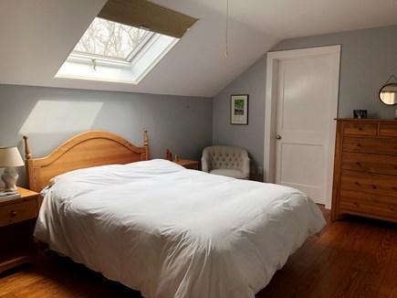 Lambert's Cove, West Tisbury Martha's Vineyard vacation rental - Queen bedroom upstairs, Also similar King bedroom