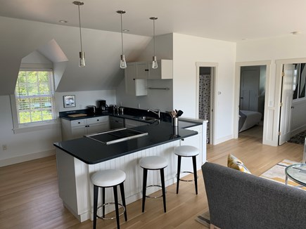 Katama - Edgartown Martha's Vineyard vacation rental - Open kitchen with breakfast bar