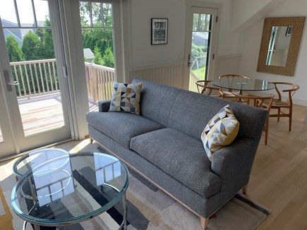 Katama - Edgartown Martha's Vineyard vacation rental - Bright, open living and dining areas
