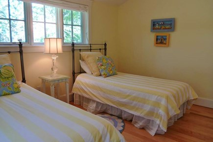 Vineyard Haven, West Chop Martha's Vineyard vacation rental - 2nd Fl 2 Twins Bedroom