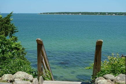 Vineyard Haven, West Chop Martha's Vineyard vacation rental - Steps to your own private beach!