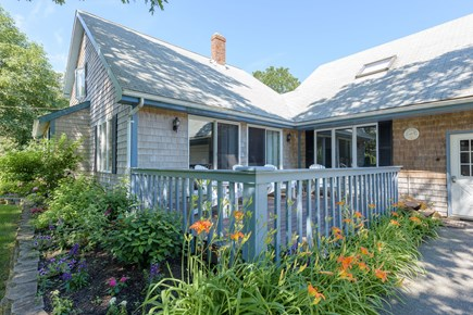 Oak Bluffs Martha's Vineyard vacation rental - Enjoy your morning cup of tea or coffee on the front porch.