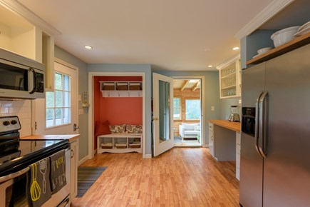 Oak Bluffs Martha's Vineyard vacation rental - View of open kitchen leading to the sunroom